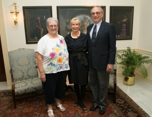 Mary Lois & Tom with First Lady Ann Scott